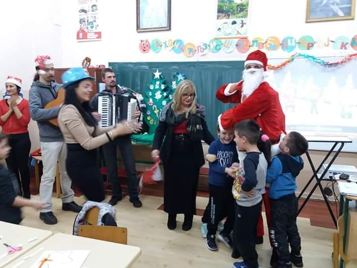 Новогодишња Дедамразијада – радионица са предшколцима